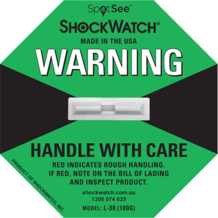 ShockWatch fra Elcon Broker L 30 - ShockWatch Grønn